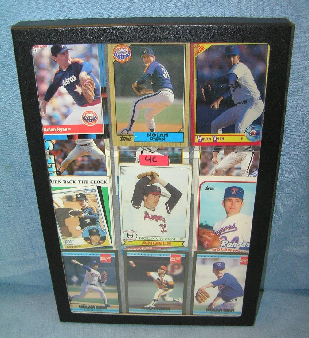 Vintage Nolan Ryan all star baseball cards
