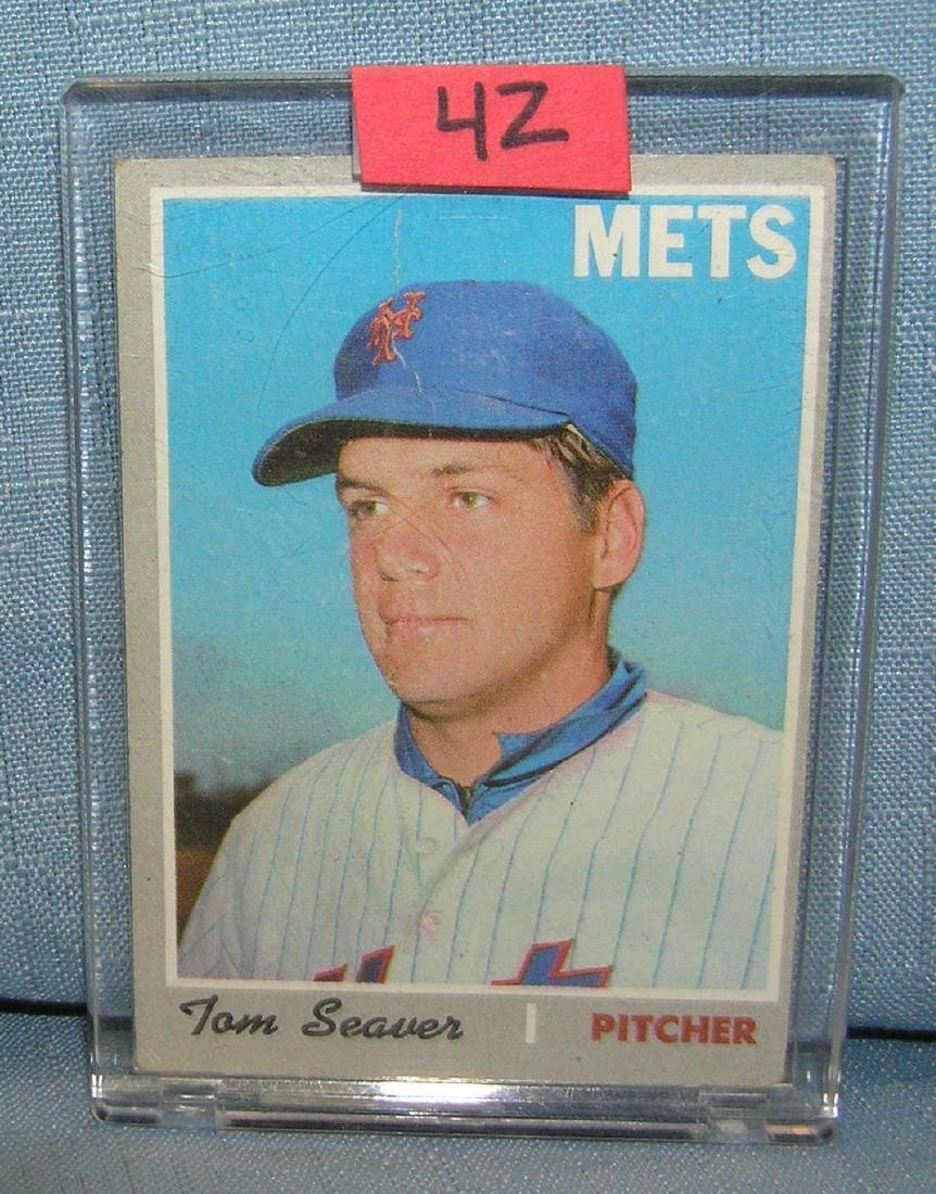Vintage 1970 Tom Seaver all star baseball card