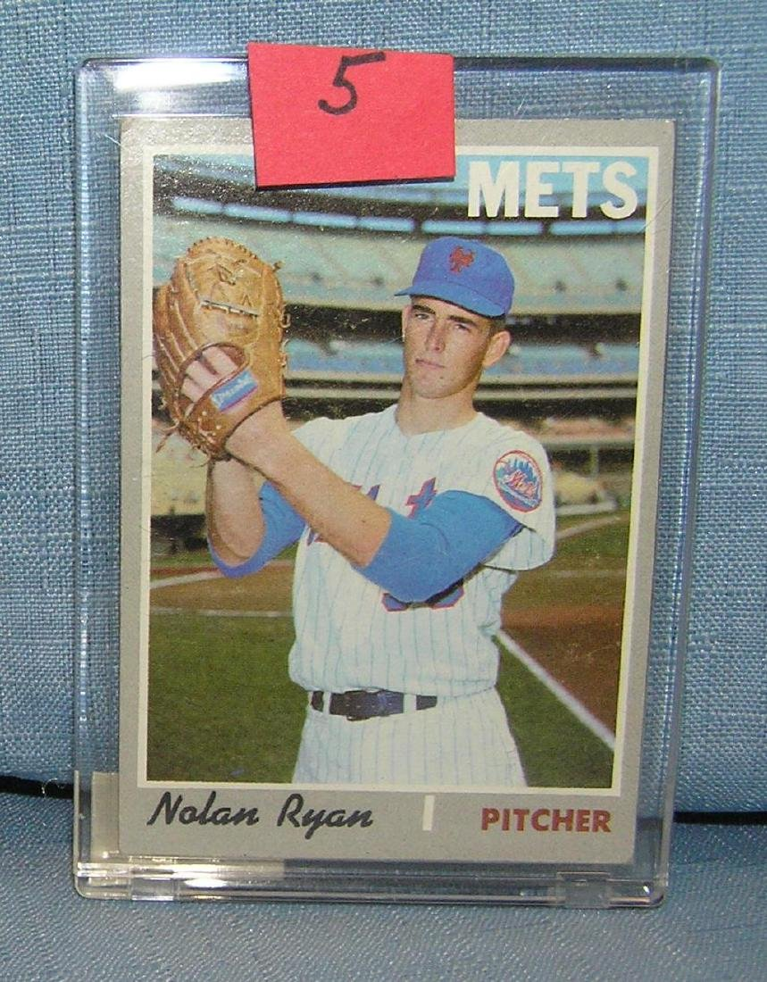 Vintage 1970 Nolan Ryan all star baseball card
