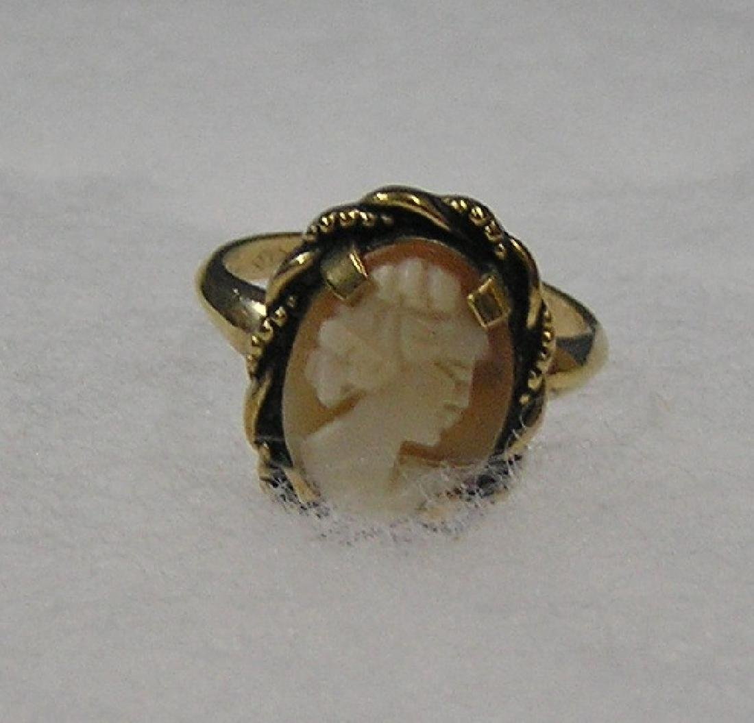 Group of high quality gold filled and gold plated rings