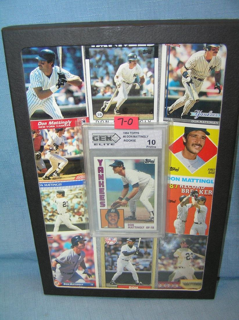 Collection of vintage Don Mattingly baseball cards