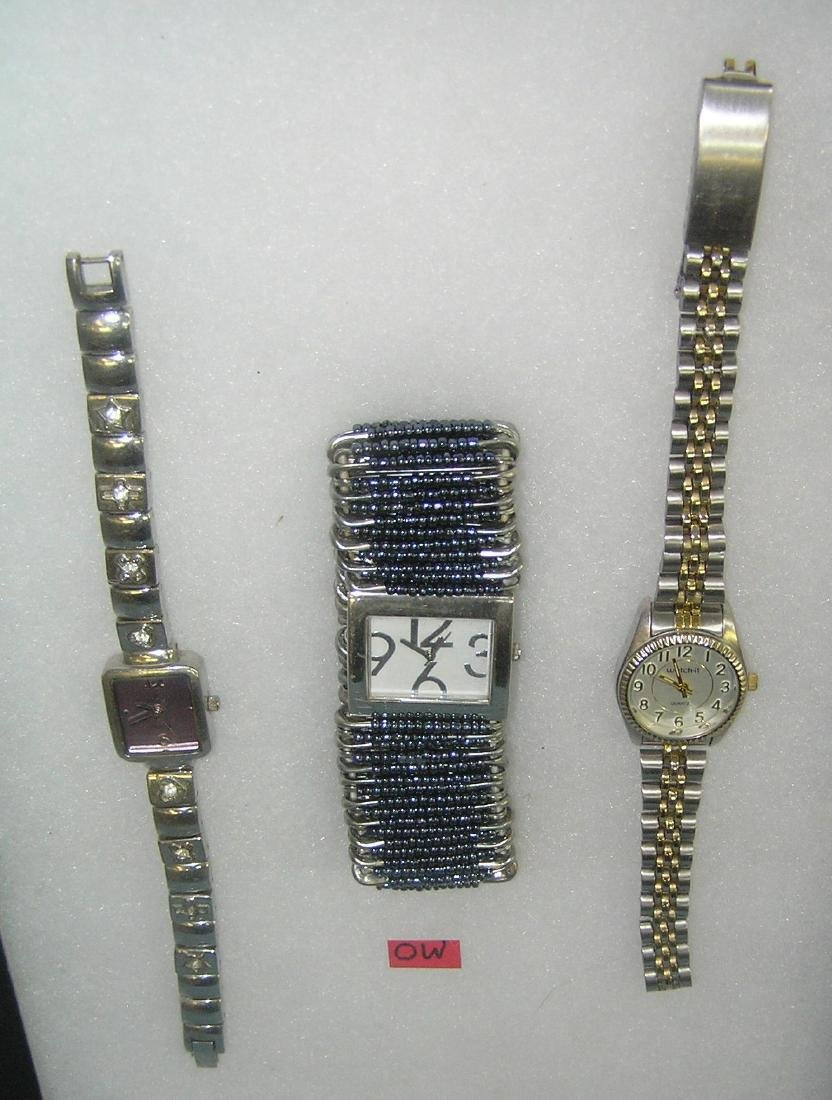 Group of 3 vintage fashion watches