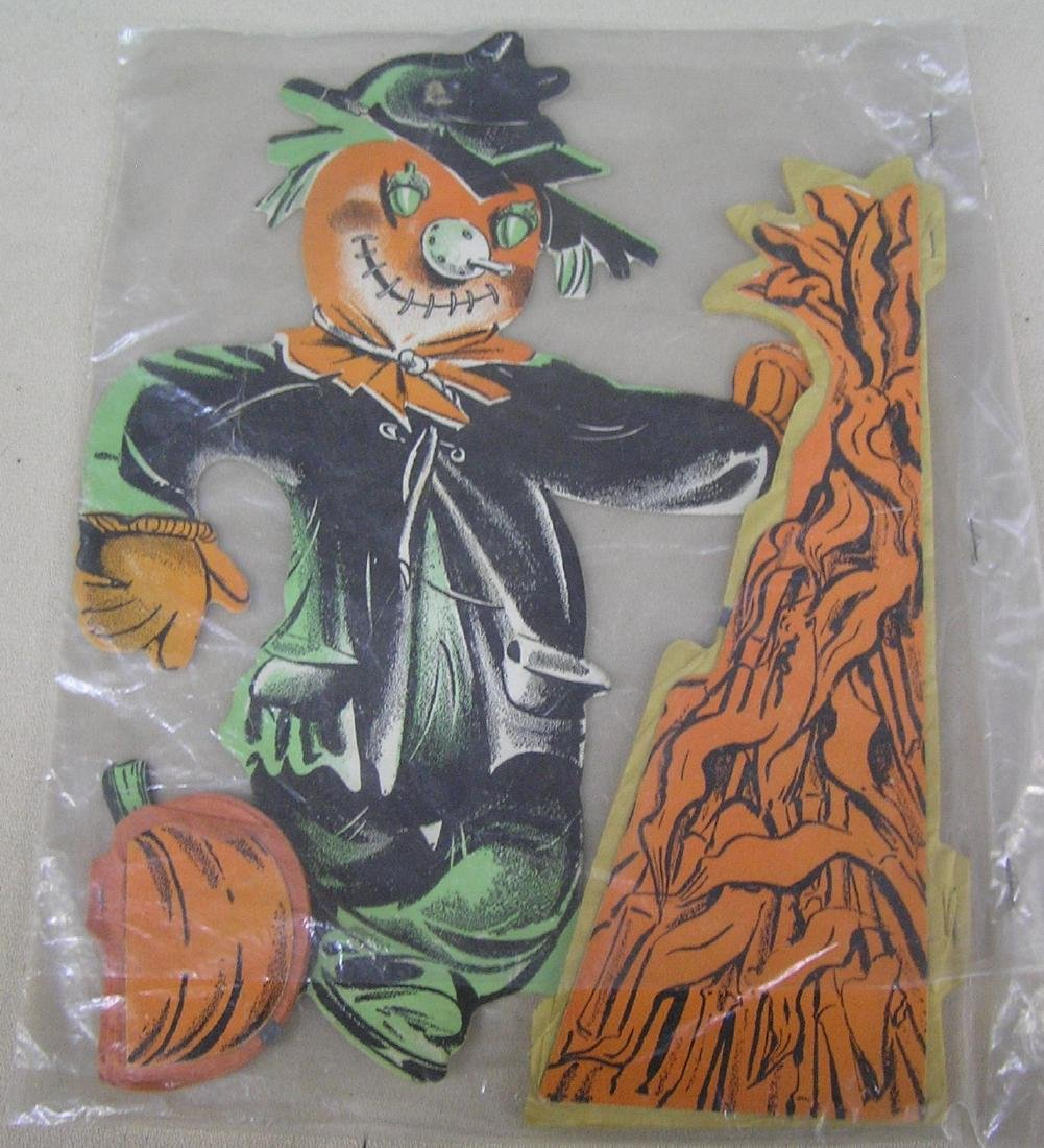 double sided scarecrow Halloween decorations