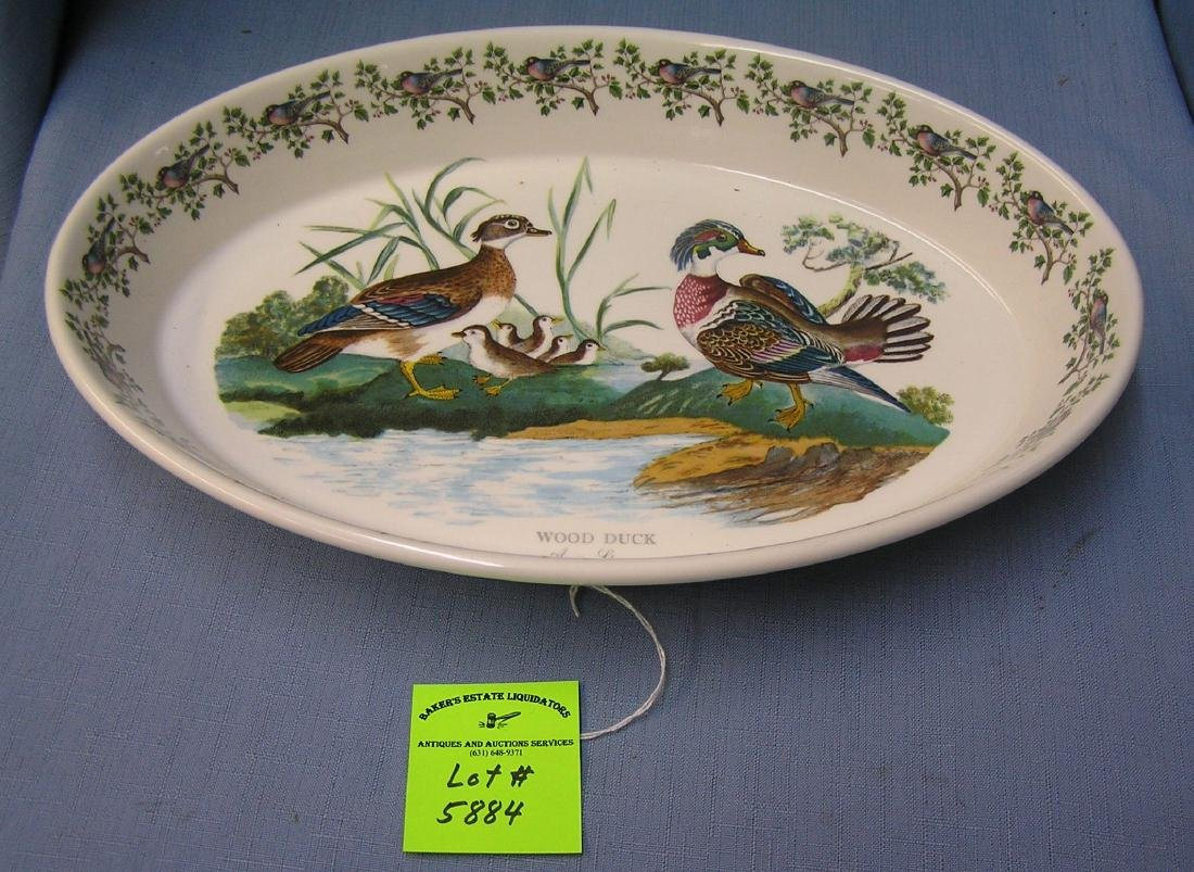 Vintage English serving bowl