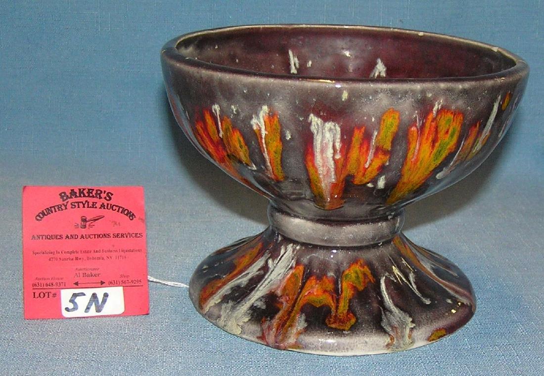 Vintage, glazed porcelain bowl