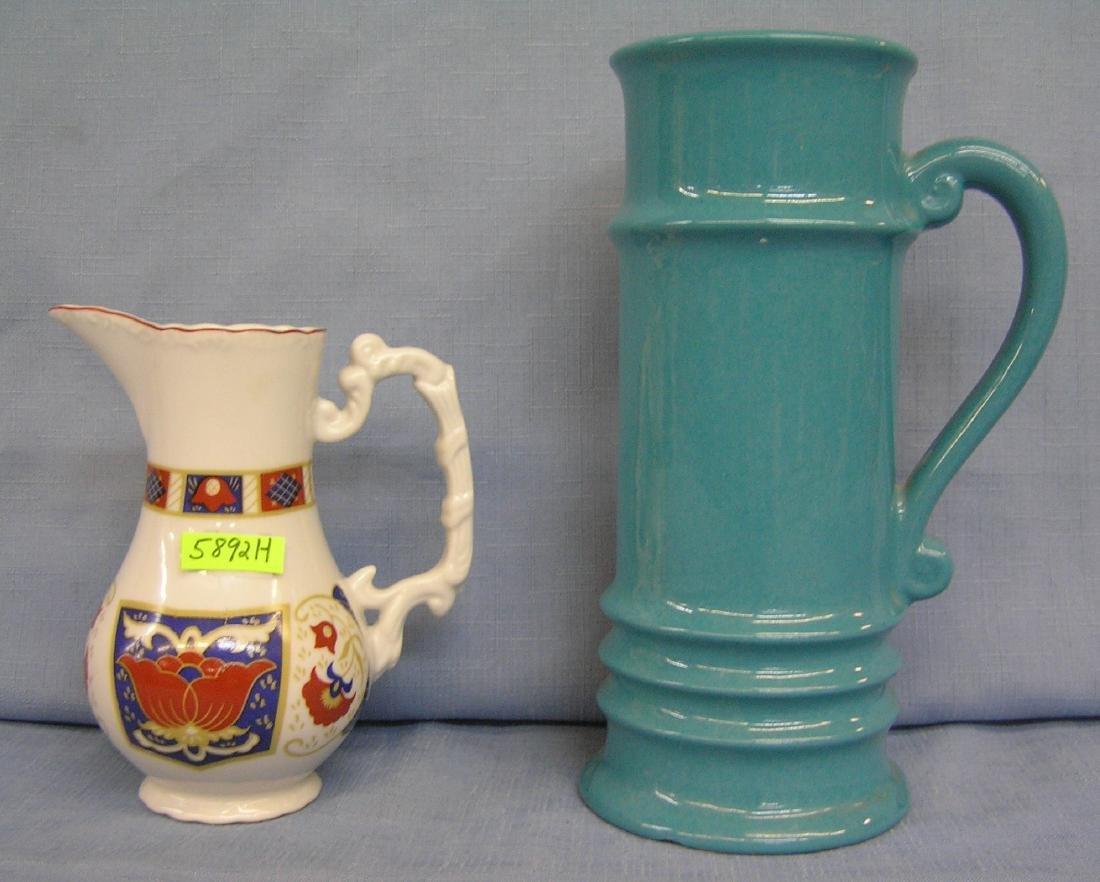 Pair of porcelain pieces