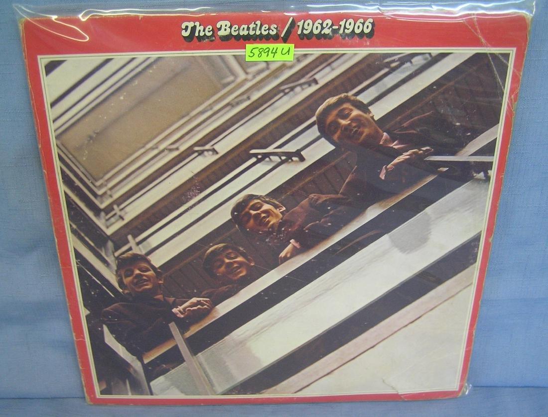 The Beatles 1962-1966 vintage record album