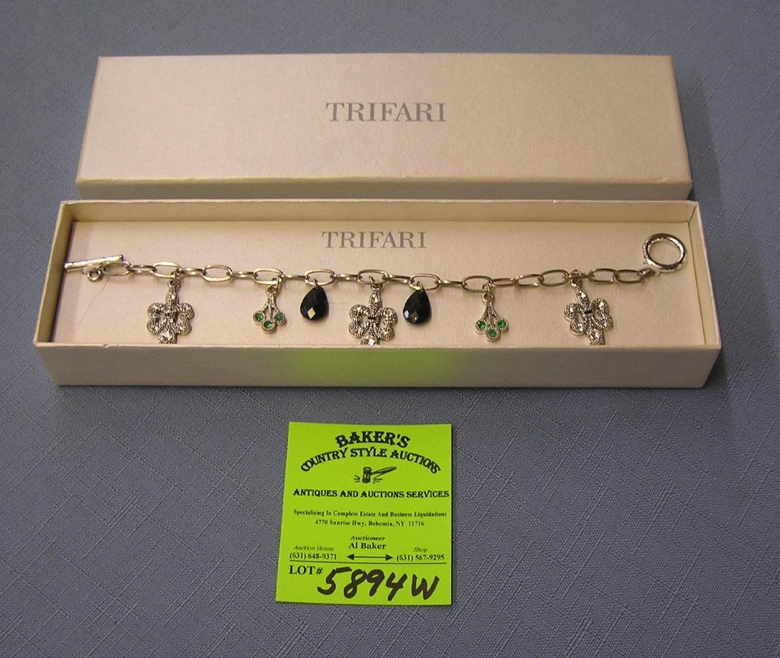 High quality Trifari bracelet with original box