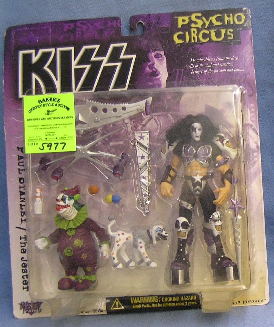 Vintage KISS Paul Stanley with the Jester action figure