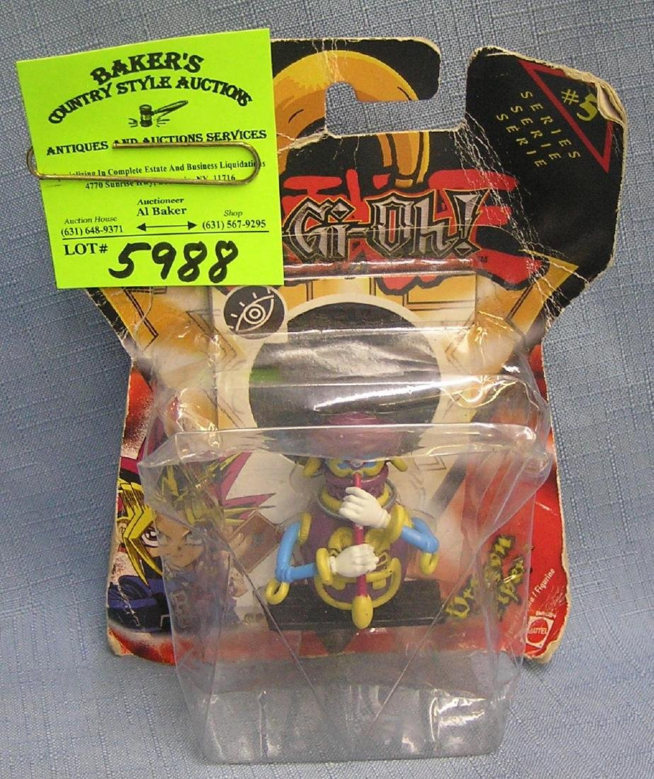 Yugioh figure mint on card by Mattel toys
