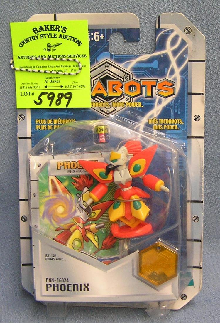 Medabots phoenix figure mint on card