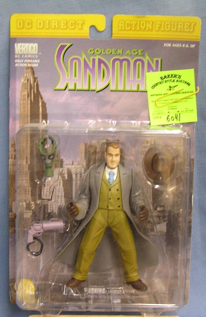 DC's Sandman action figure mint on card