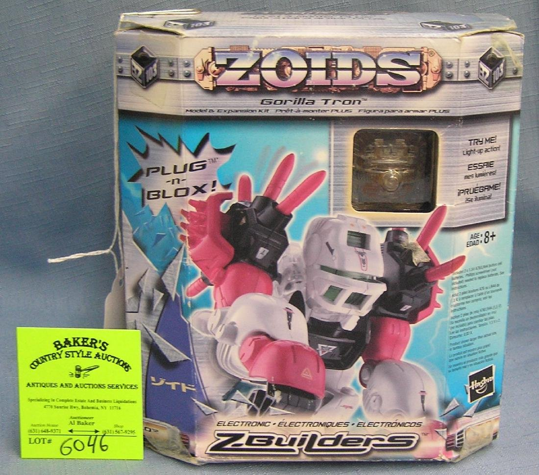 Zoids Gorillatron robotic figure mint in box