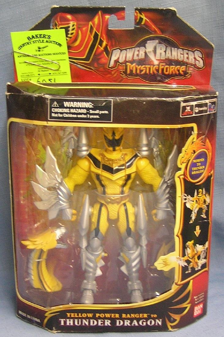 Vintage Power rangers Thunder dragon action figure
