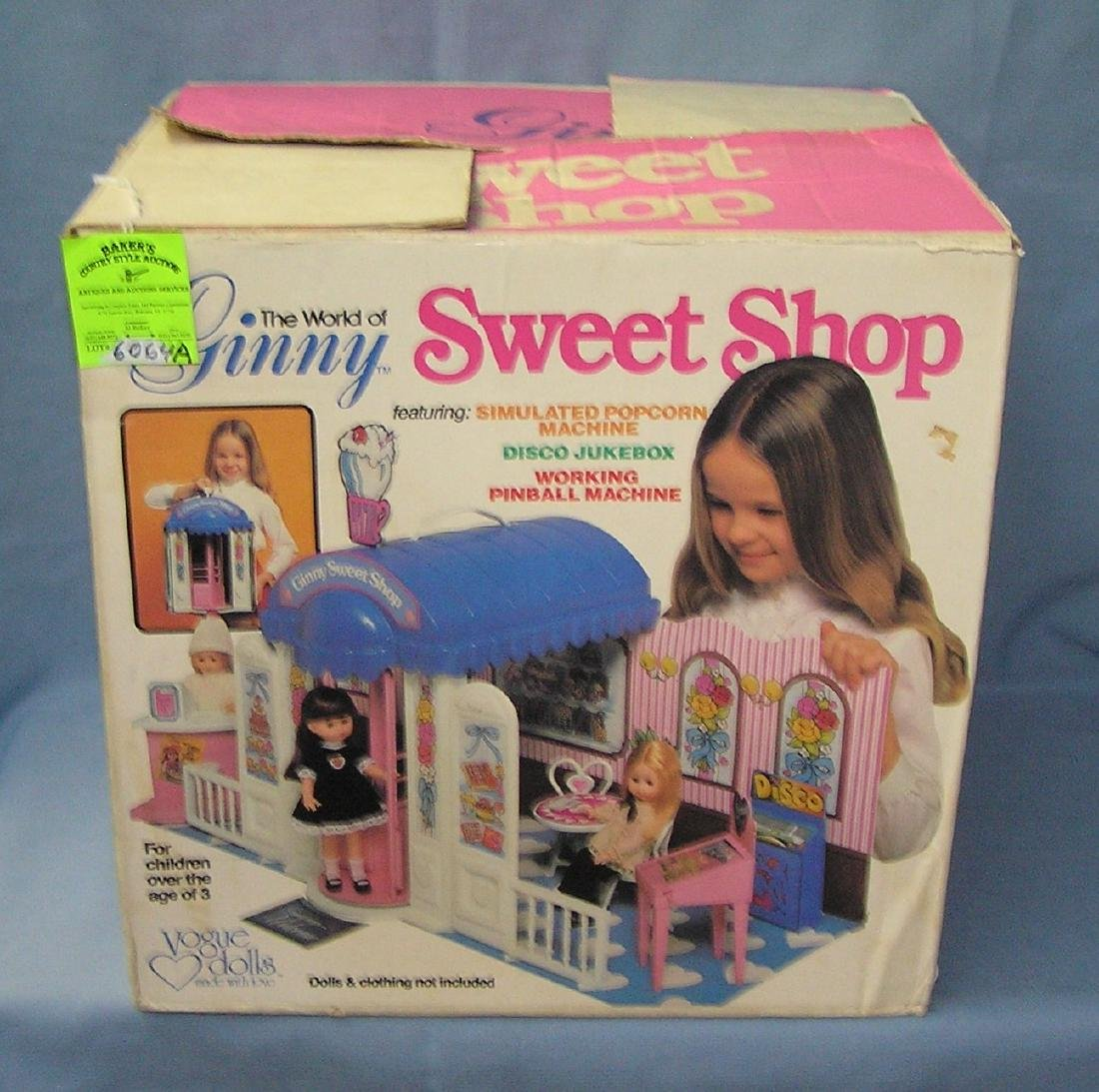 The world of Ginny Sweet Shop play set