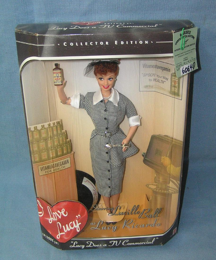 12 inch I Love Lucy doll with original box