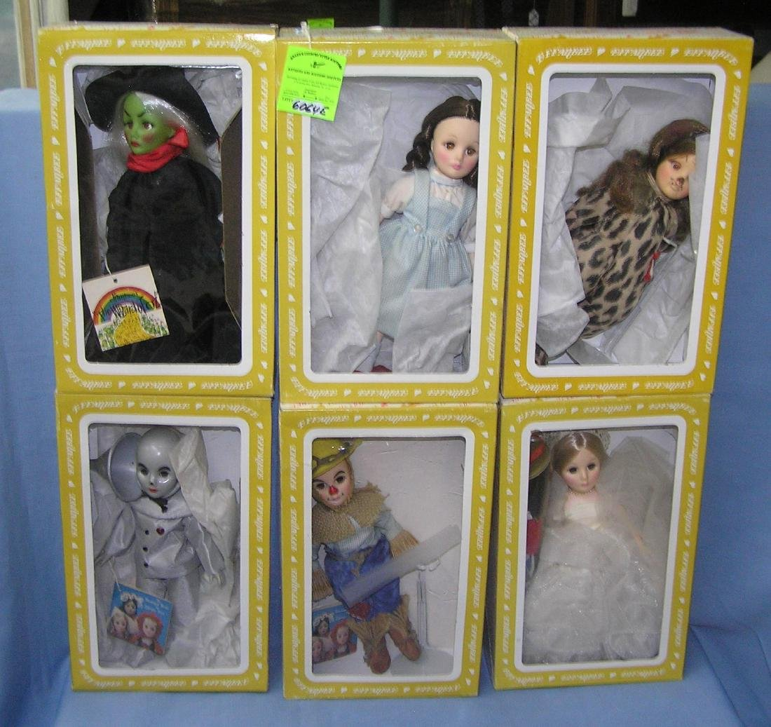 Wizard of Oz 12 inch doll set by Effanbee