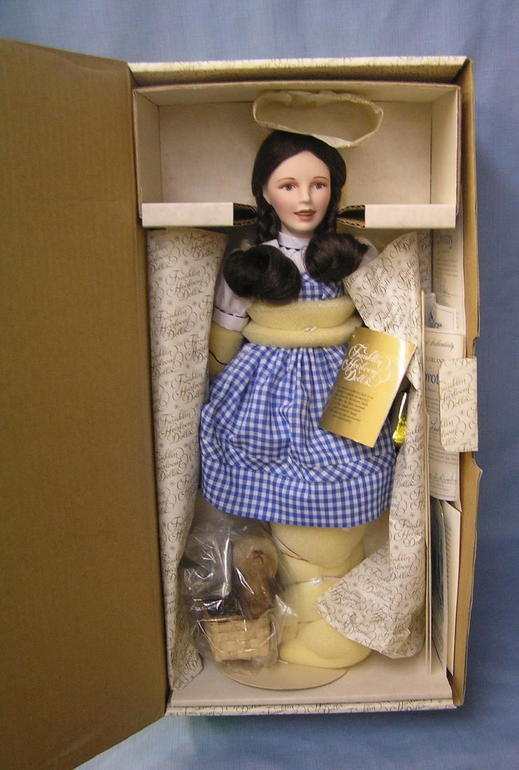 17 inch Judy Garland as Dorothy doll