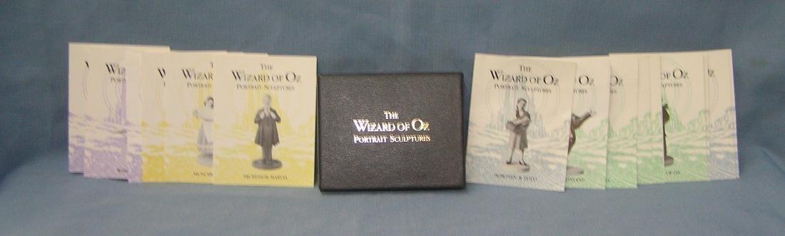 The Wizard of Oz portrait sculptures