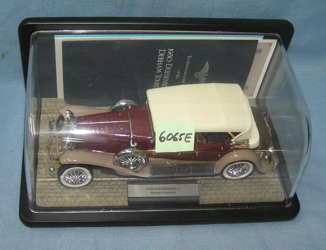 1930's style Duesenberg with original display case