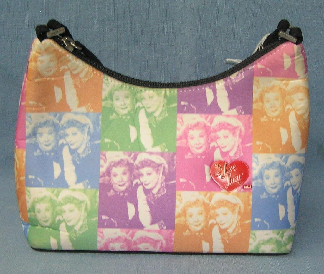 Vintage decorative I Love Lucy hand bag
