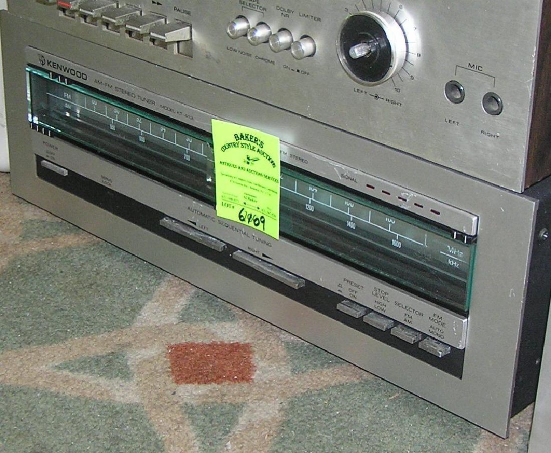 Vintage Kenwood AM/FM stereo tuner