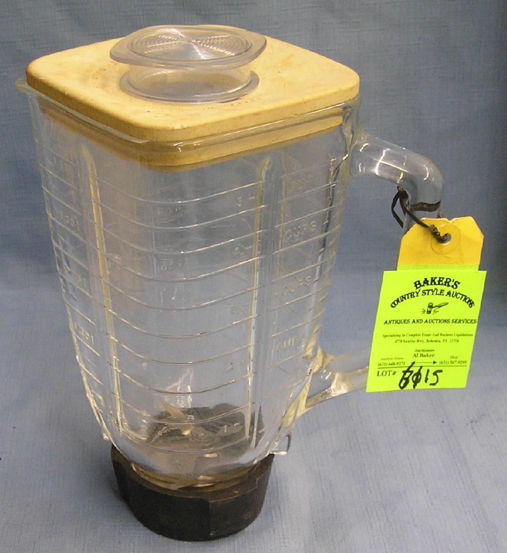 Vintage Oster glass blender container