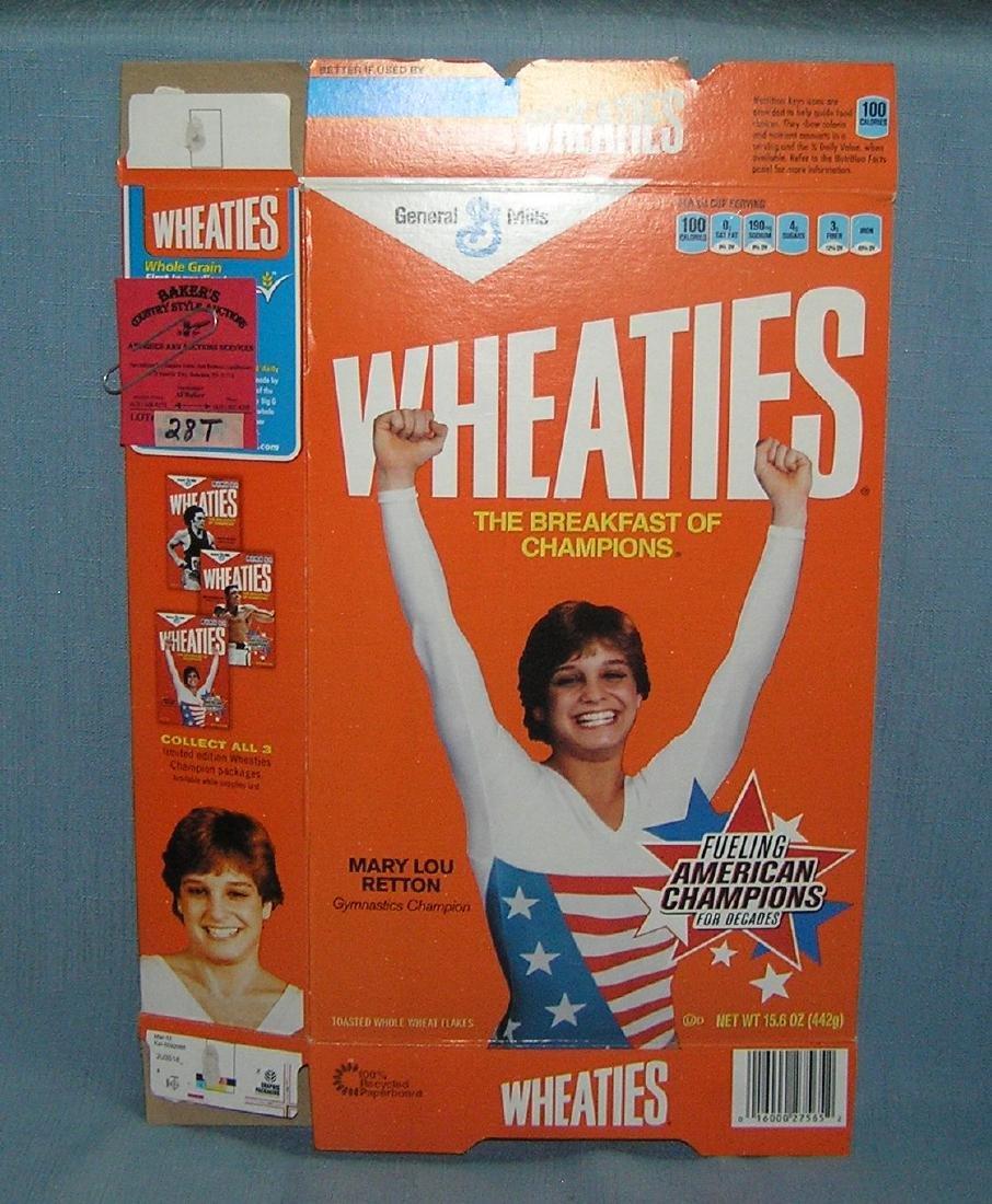 Mary Lou Retton Wheaties cereal box