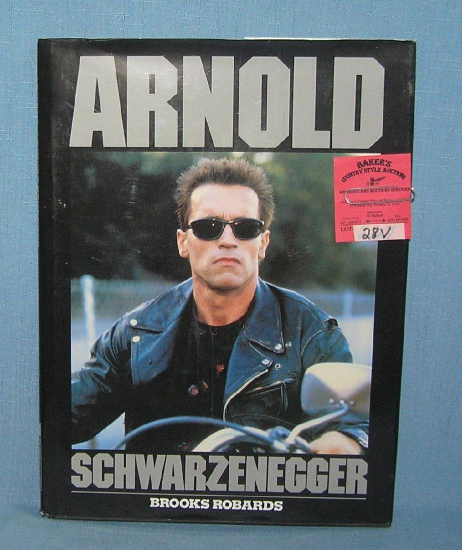 Arnold Schwarzenegger body building and movie book