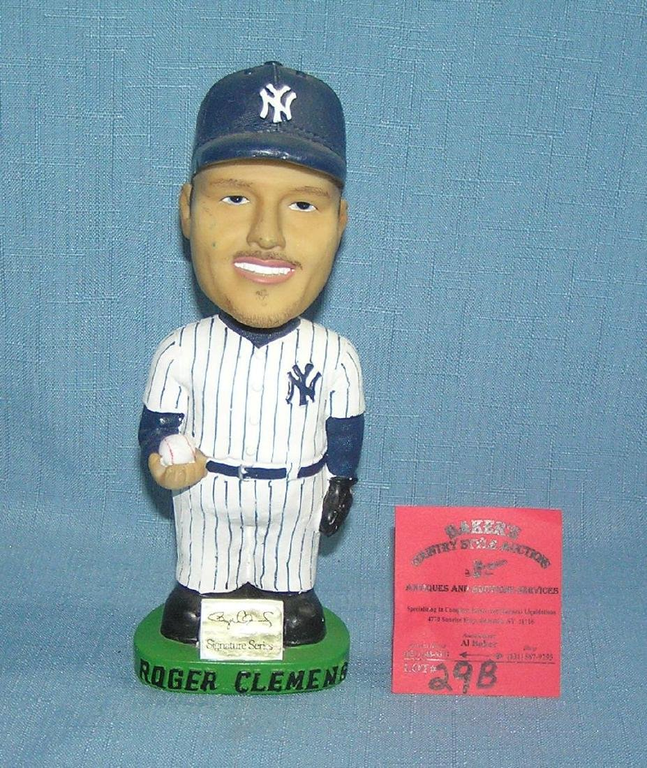 NY Yankees Roger Clemens bobble head doll