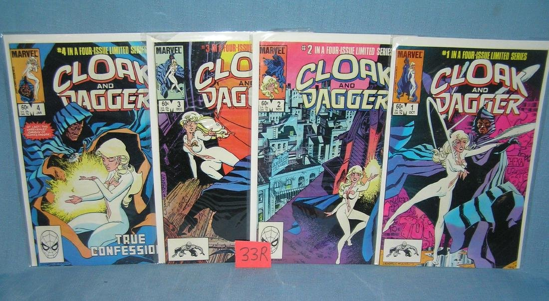Marvel Cloak and Dagger comic books issues 1-4