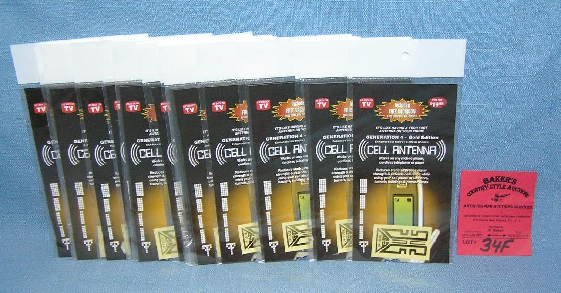 Group of 20 cell phone antennas