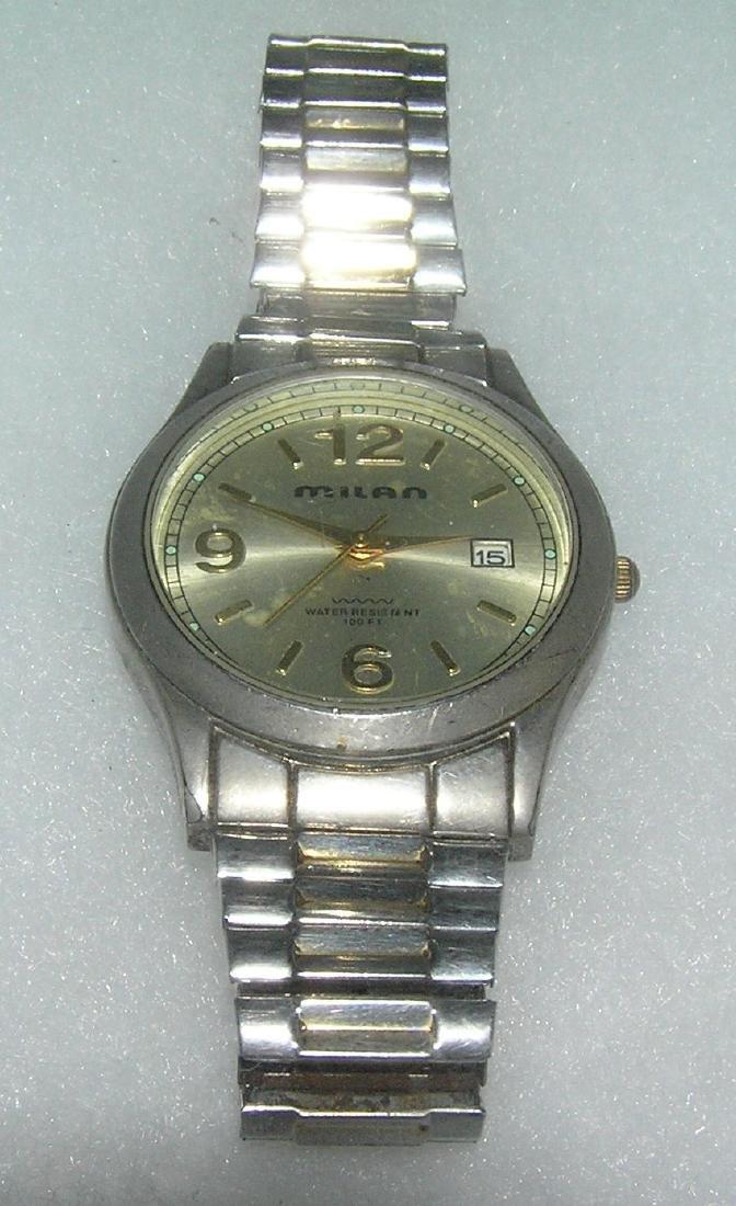 Gentleman's water resistant wrist watch