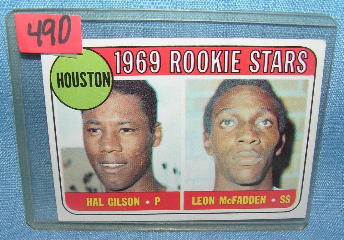 1969 Topps Houston rookie stars