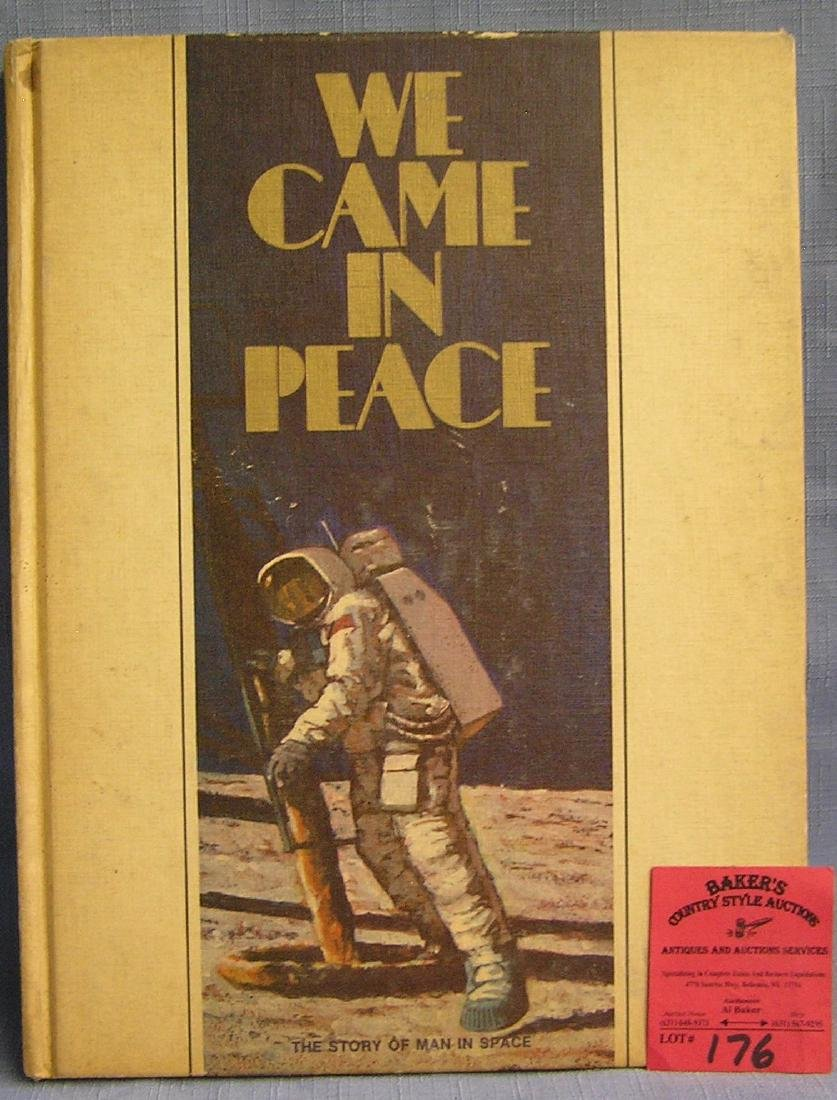 We Came in Peace vintage space book