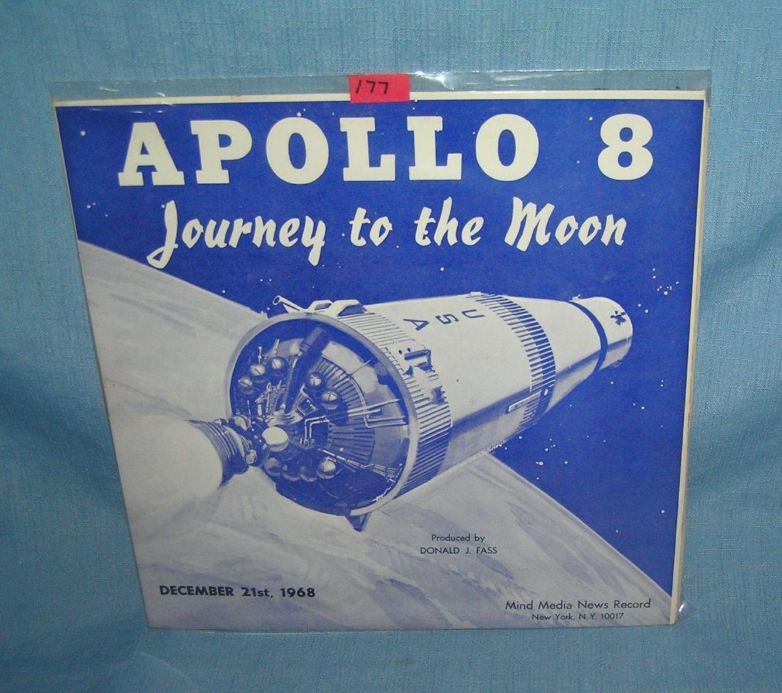 Apollo 8 Journey to the Moon media news record