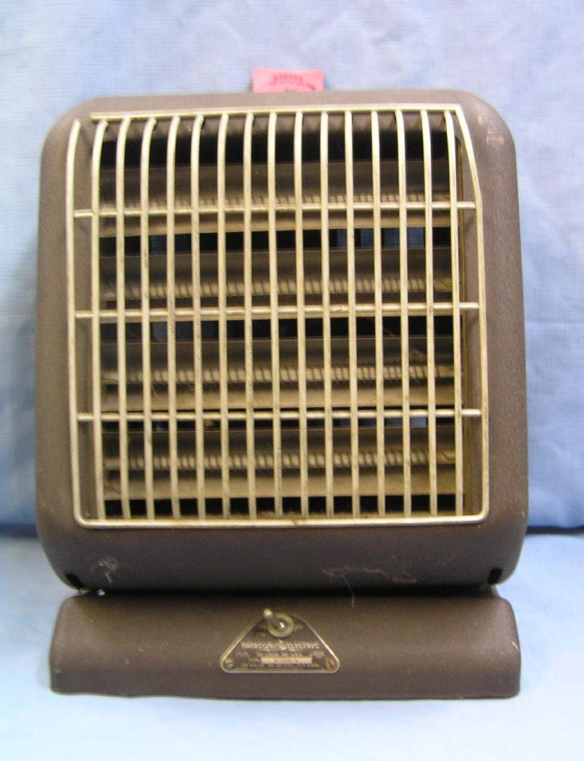 Antique Emerson electric space heater