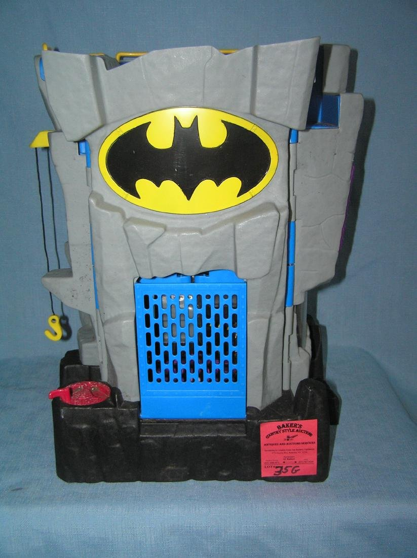 Batman Batcave headquarters playset by DC comics