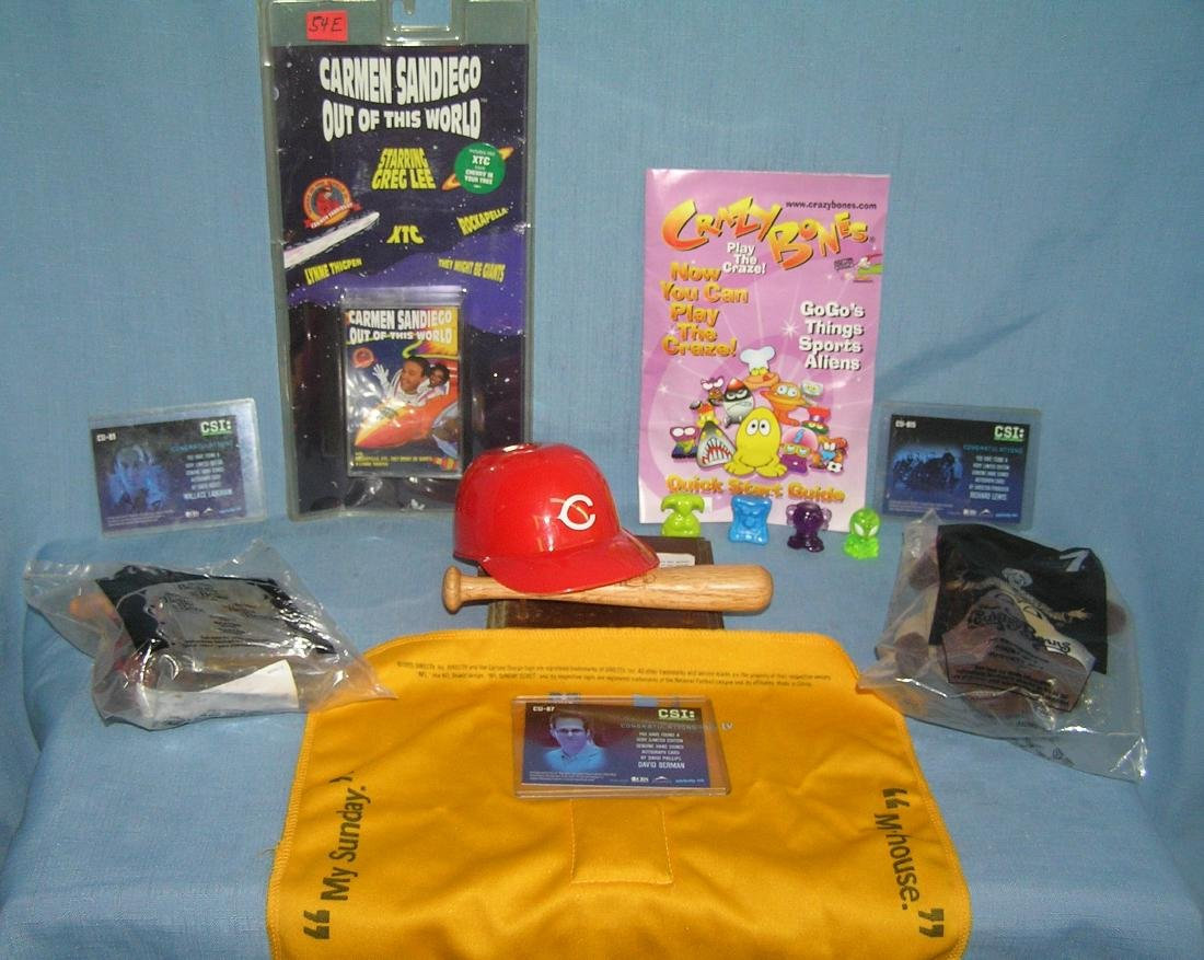Group of misc. collectibles includes sports and more