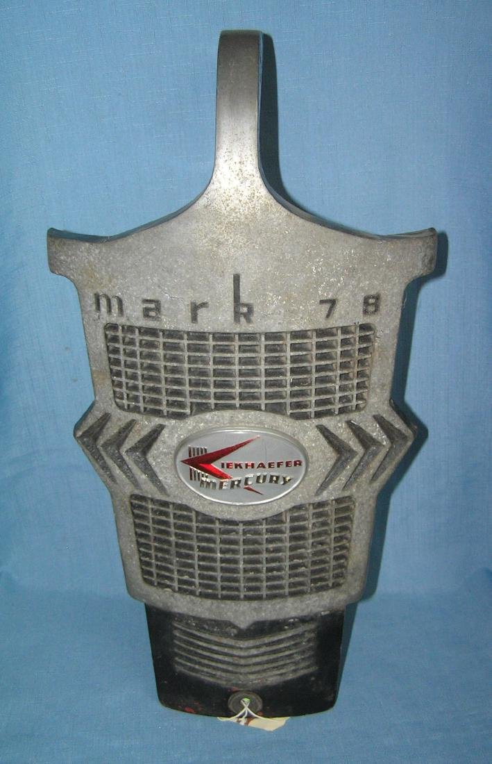 Original Mercury all metal grill front
