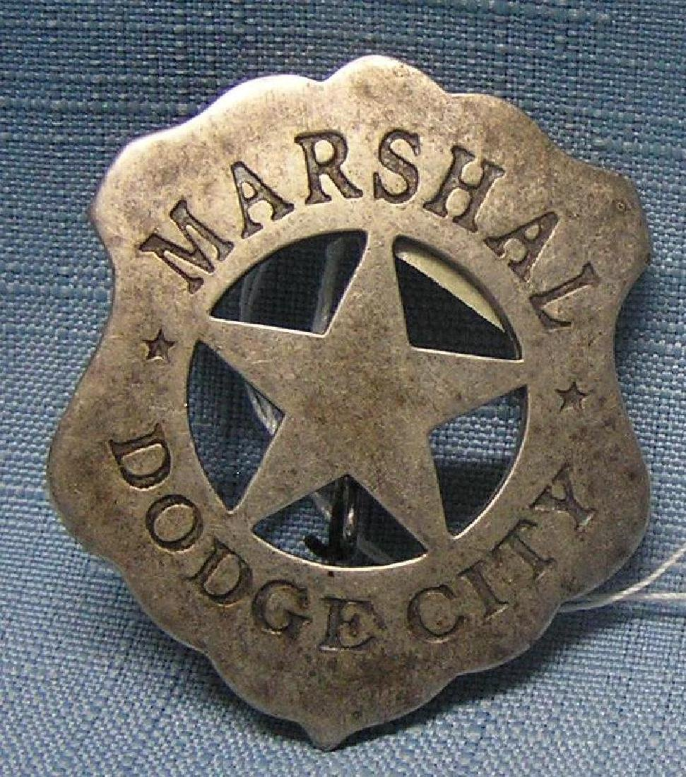 US Marshal's badge early 1900's