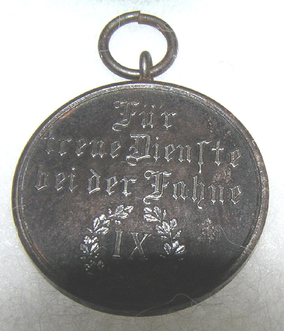 Nazi Germany Faithful Service medal