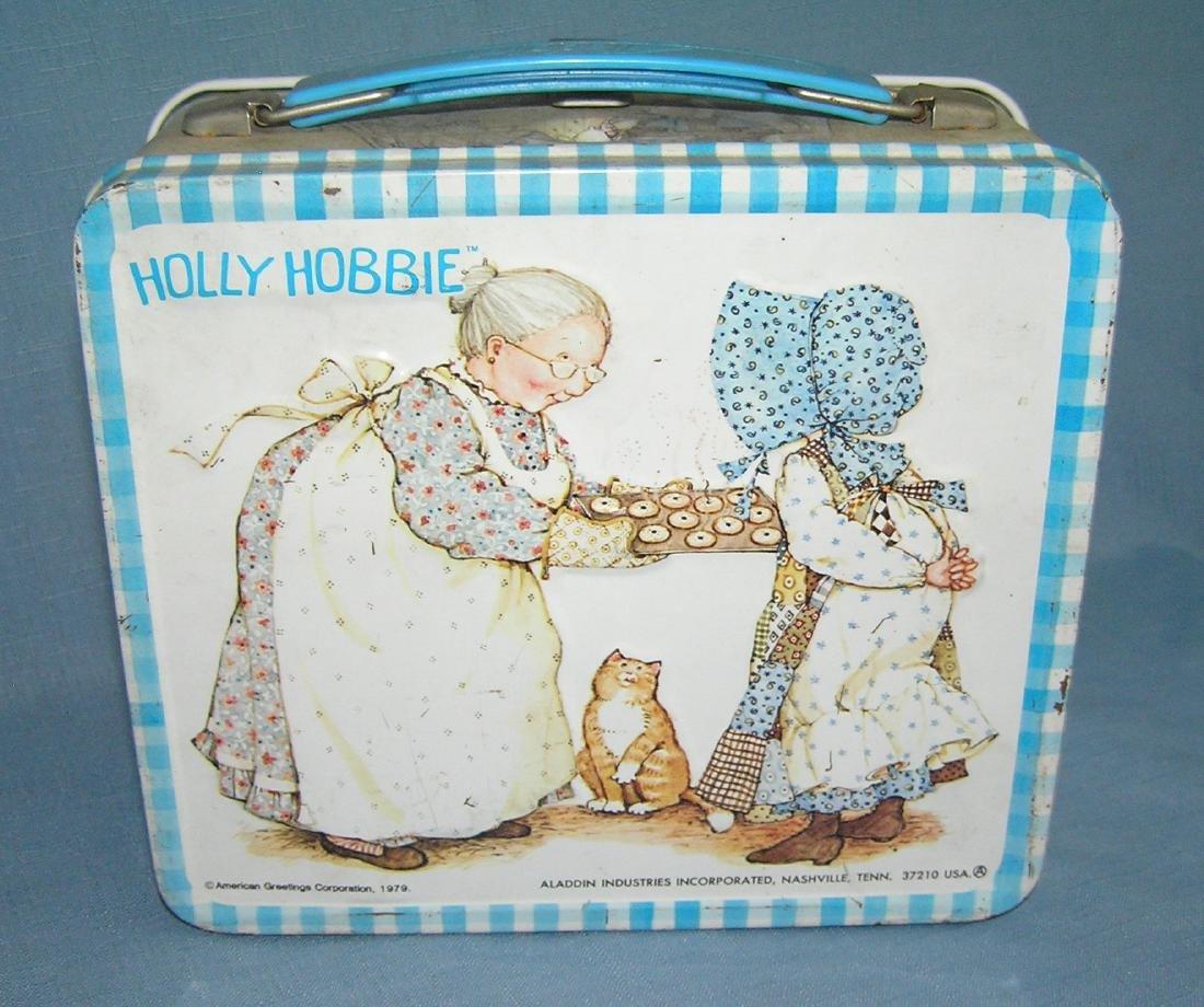 Holly Hobbie tin lunch box by Aladdin