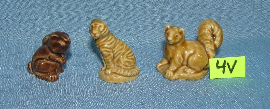 Group of 3 English Wade porcelain animals