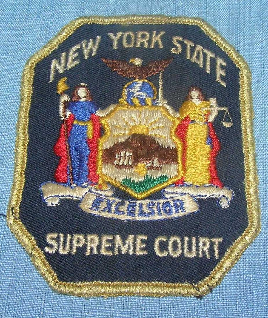Early NY State Supreme Ct. patch