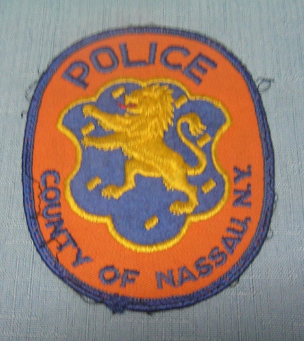 Vintage Nassau County policeman's patch