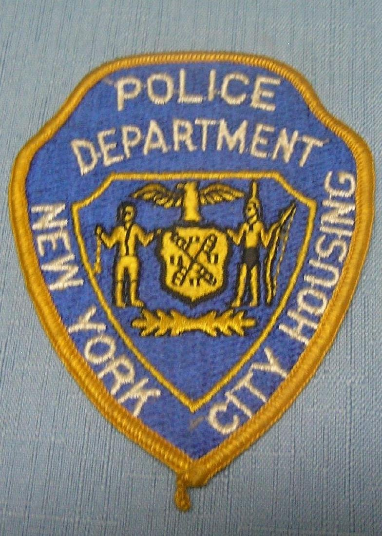 Early NY City Housing police patch