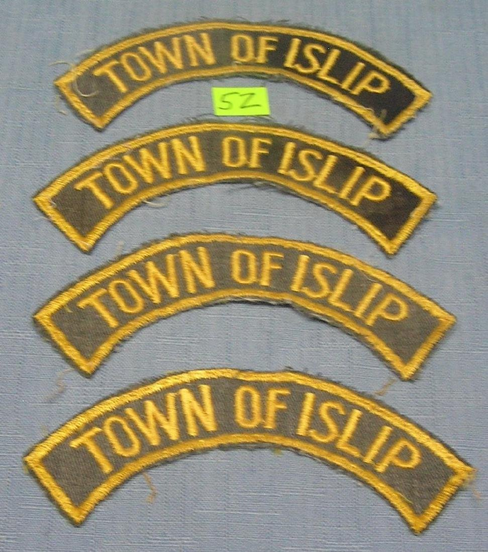 Group of Town of Islip NY patches