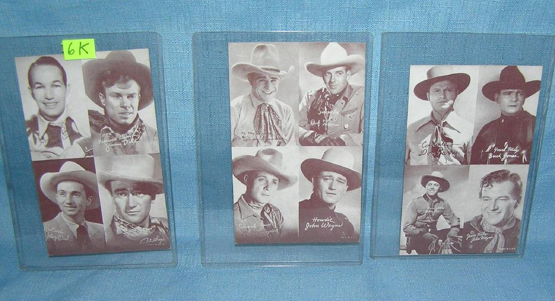 Penny Arcade western stars exhibet cards