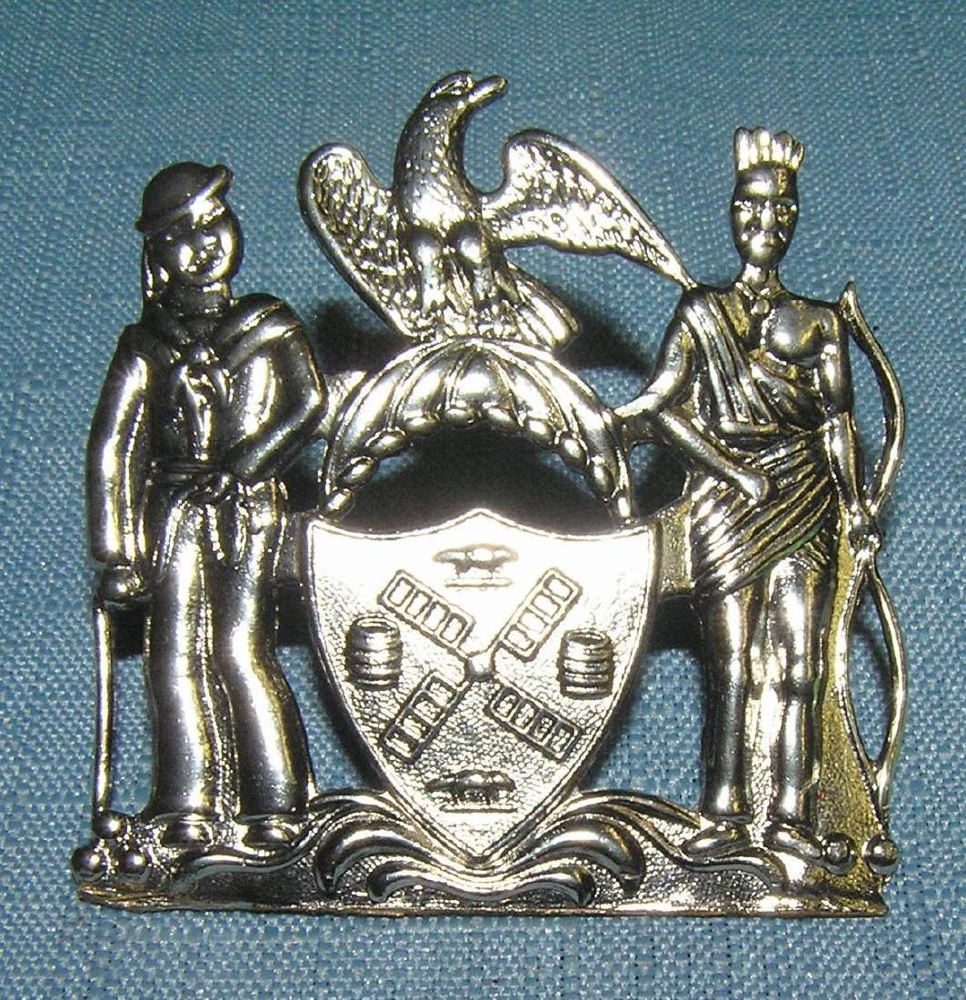 NY City police shield